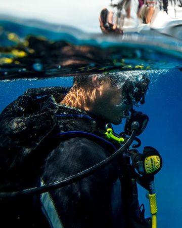 Weź pierwszy oddech pod wodą